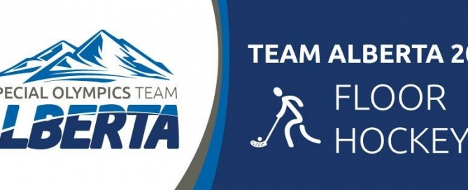 Special Olympics Team Alberta - Team Alberta 2016 Floor Hockey logo