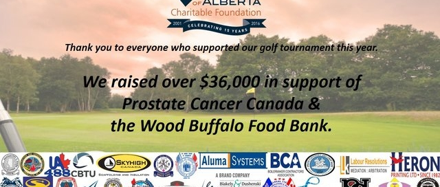 Annual Charity Golf Tournament in Support of Prostate Cancer Canada