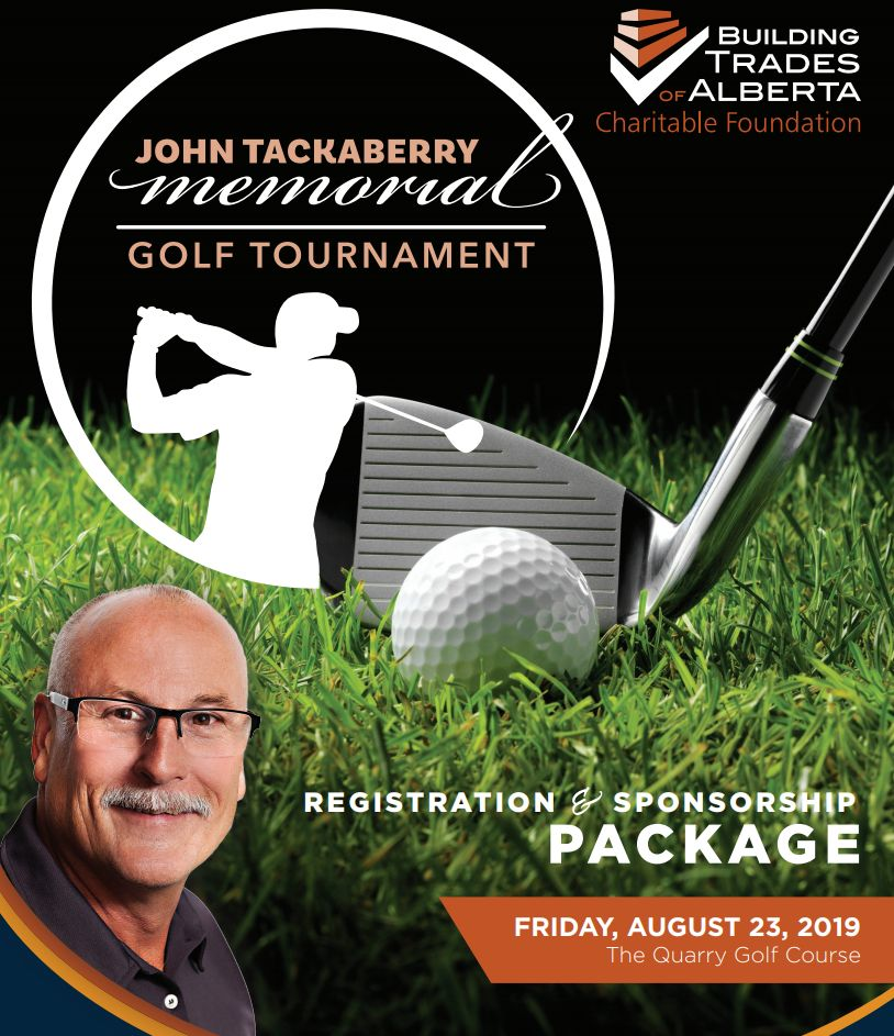 John Tackaberry Memorial Golf Tournament, 2019
