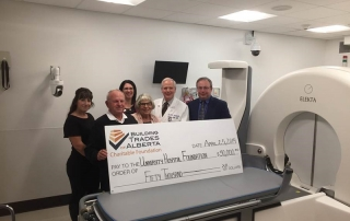BTA Charitable Foundation donates $50,000 to Alberta Hospital Foundation - Brain Centre Campaign