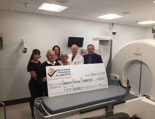 $50,000 Donation to University Hospital Foundation